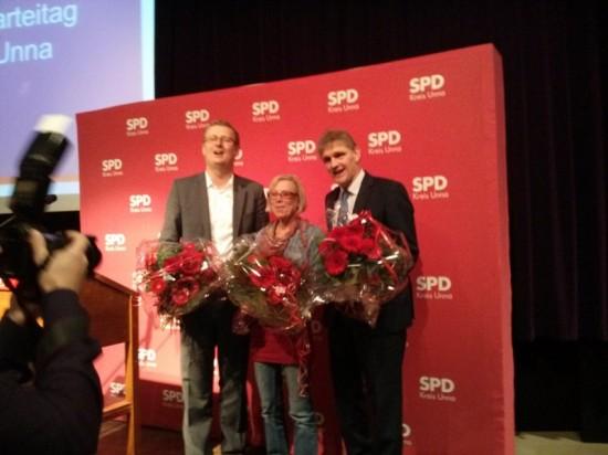 Oliver Kaczmarek, Brigitte Cziehso und Michael Makiolla (v.l.)