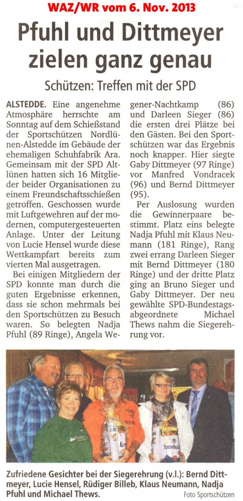WAZ-WR 06-11-2013SPD-Sportschützen
