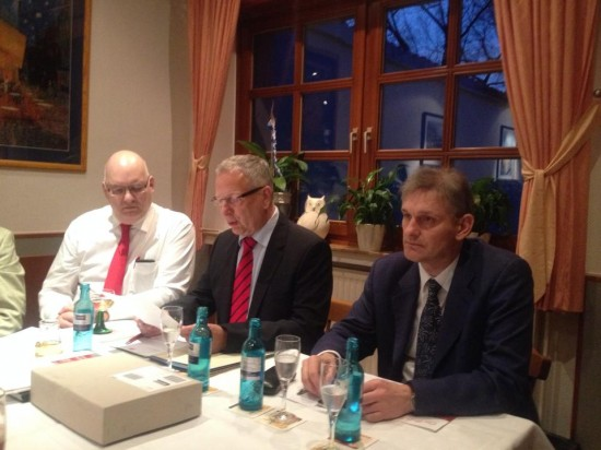 Bruno Sieger, Rüdiger Billeb und Michael Makiolla (v.l.)