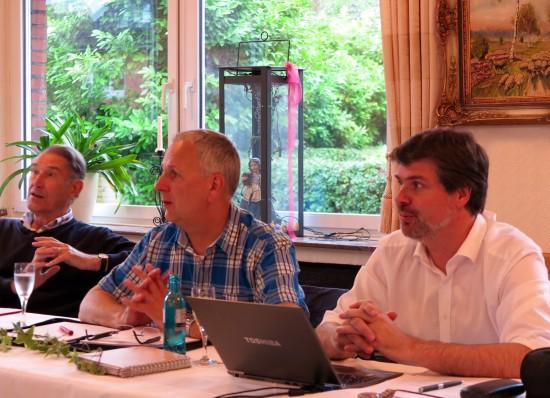 Manfred Boblitz, Rüdiger Billeb und Michael Thews (v.l.)